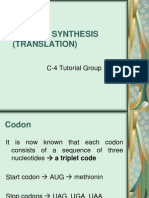 271211 - Protein Synthesis (Translasi) - Bu Lely