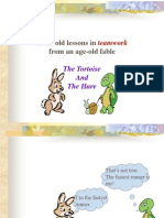 TEAMWORK for LCD PRESENTATION (The Hare & the Tortoise).ppt
