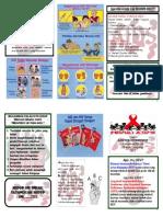 Leaflet HIV Finish