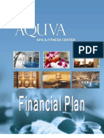 Financial Feasibility Report on Aquva Spa - Analysis of Fi.