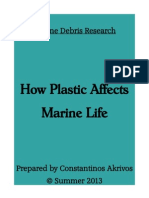 How Plastic Affects Marine Life C. Akrivos Research Paper