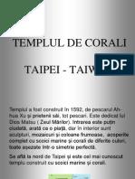 Templul de Corali CMI Taiwan