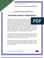 Summer Project KPTL