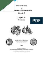 LG MATH Grade 5 - Geometry v2.0