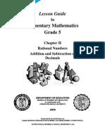 LG MATH Grade 5 - Ratl.nos.Add_Sub.dec. v2.0