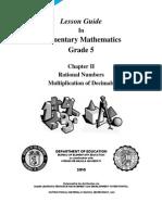 LG MATH Grade 5 - Ratl.nos.Mult.dec. v2.0