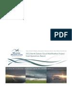 2012 NDCMP Final Report North Dakota Cloud Seeding