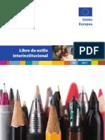 Libro Estilo UE