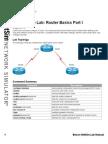 2.Router Basics Part I