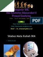 Pengantar IKM Farmasi MFH