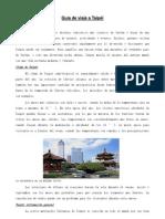 Guía de viaje a Taipéi Paula O