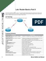 3.Router Basics Part II