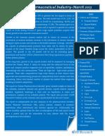Brochure Indian Pharmaceutical Industry