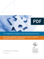 Leadership Challenge Pharmaceutical