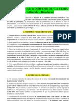 PRONUNCIAMIENTO MINERÍA, Diócesis de La Ceiba