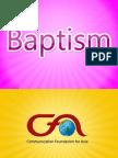 Film&Sacraments Baptism