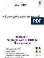 1_Introduction to HRM