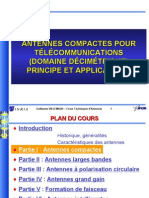 1 - Antennes compactes