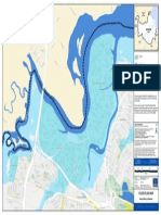 Flooding Bald Hills North Flood Flag Map