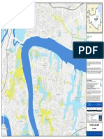Flooding Bulimba Flood Flag Map
