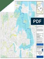 Flooding Carina Flood Flag Map