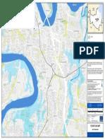 Flooding Dutton Park Flood Flag Map