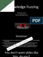 0knowledge Fuzzing Slides