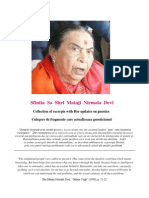 Sfintia Sa Shri Mataji Nirmala Devi 'Actualizarea Gnosticismului'
