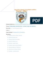 Problemas Propuestos Estructura Secuencial Trabajo Mardonio II