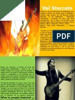 Val Staccato (Press Kit) Español