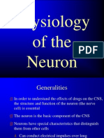 Anatomy and Physiology of the Neuron(1)