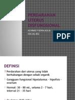 Perdarahan Uterus Disfungsional