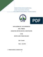Guia de Metodología de Investigación Guido Franco 2013