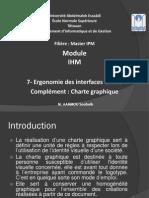 7- Charte graphique