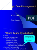 [PPT] Strategic Brand Management
