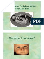 2.2 Humanização em Terapia Intensiva neonatal