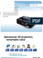 Ace Rp 1201 Projector