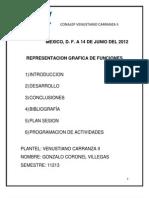 ENSAYO Representacion Grafica