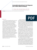 The Usefulness of Immunohistochemistry in the Diagnosis of Follicular Lymphoma in Bone Marrow Biopsy Specimens