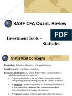 Cfa Quant Review - Statistics(1)