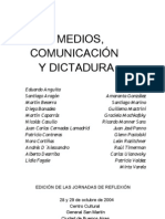 Varios - Medios Comunicacion Y Dictadura