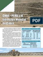 Cobre y Chile Peru