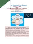 Regional Planning PartIII Strategies for Balanced Regional Development