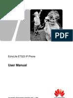 EchoLife ET523 IP Phone User Manual (2)
