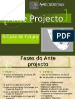 Casa Do Futuro-Anteprojecto Power Point