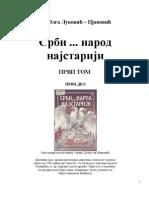 Dr. Olga Lukovic-Pjanovic - Srbi...Narod Najstariji