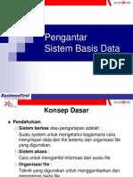 Pengantar Sistem BasisData