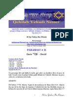 Parashat No 31 Adul 5769