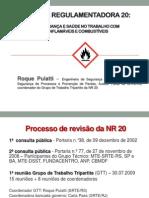 NR 20 Fundacentro Roque Puiatti