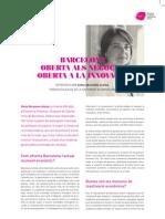 Entrevista Sonia Recasens i Alsina, tinent alcalde de Barcelona